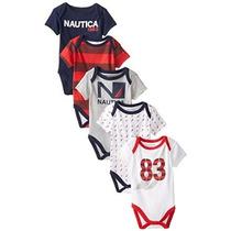 Nautica Bebé-niños Recién Nacidos 5 Paquete Sport Americana