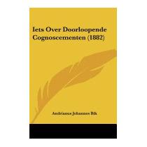 Iets Over Doorloopende, Andrianus Johannes Bik