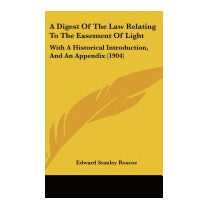 Digest Of The Law Relating To The, Edward Stanley Roscoe
