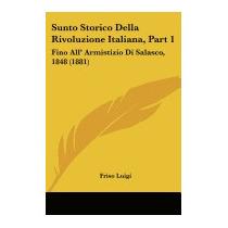 Sunto Storico Della Rivoluzione Italiana, Part, Friso Luigi