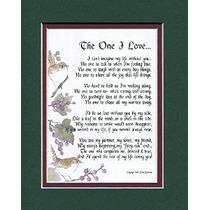 The One I Love A Sentimental Regalo Para Una Novia, Esposa,