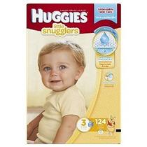 Huggies Little Snugglers Pañales Tamaño 3 124 Count (embalaj