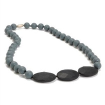 Chewbeads Greenwich Collar - Stormy Gray [producto Del Bebé]