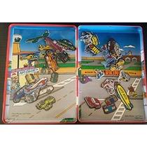 Fun Magnetic - Coches Aviones Y Trenes