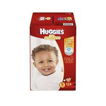 Huggies Little Snugglers Bebé Pañales Tamaño 5 124 Count (el