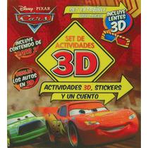 3d Centro De Actividades: Disney Cars 2