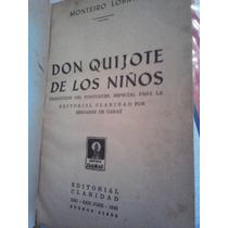Don Quijote De Los Ninos, Monteiro Lobato