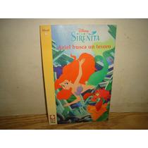 Cuento Disney, La Sirenita, Ariel Busca Un Tesoro