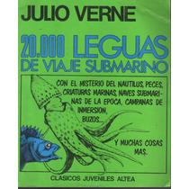 20 000 Leguas De Viaje Submarino Julio Verne Ilustrado Pm0