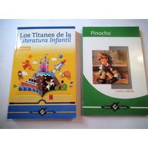 Paquete Niños Pinocho + Titanes Literatura Infantil