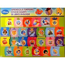 Estuche Con 26 Libros De Aprendizaje Temprano, Disney