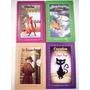 Paquete 4 Libros Niños Hombre Invisible Robinson Crusoe Esop