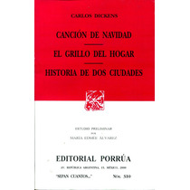 Cancion De Navidad, Grillo Del Hogar, Historia De - Dickens