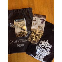 Game Of Thrones Sdcc 2015 Swag Bag Exclusivo