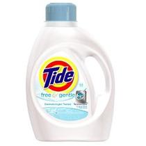 Tide Free Y Suave Él Líquido Detergente De Lavandería 100 Fl