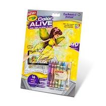 Crayola Color Alive Acción Colorear - Bosque Encantado