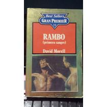 Rambo Primera Sangre, David Morell, Libro Usado Original