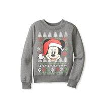 Mickey Mouse Suéter Feliz Navidad
