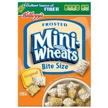 Frosted Mini-trigo Bite-size Cereales Cajas 18 Onzas (paquet