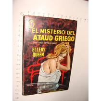 Libro El Misterio Del Ataud Griego, Ellery Queen , Colección