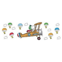 Eureka Peanuts Gigante Snoopy Flying Ace Anuncios Particular