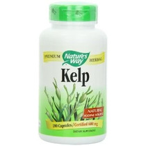 Way Kelp Cápsulas 180-count 600 Mg De La Naturaleza