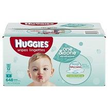 Huggies One & Done Refrescante Bebé Wipes Refill Pepino Y Té