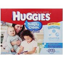 Huggies Simplemente Clean Fresh Bebé Toallitas 648 Conde