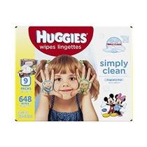 Huggies Simplemente Bebé Clean Wipes Refill 648 Count (packa