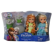 Disney Congelado Petite Surprise Trolls Gift Set Anna Elsa D