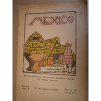 Mexico # 3 Revista D Asuntos Sociales E Ideas 1924 Toussaint