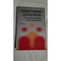 Libro Salud Mental Comunitaria, Guillermo Calderón Narváez.