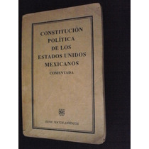 Constitucion Política De México Comentada 1990