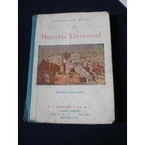 Historia Universal - Macedonio Navas - Editorial Herreros
