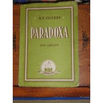 Cicerón Paradoxa Stoicorum