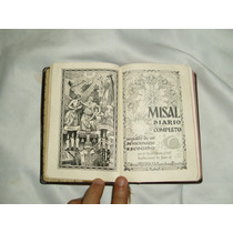 Misal Diario Y Devocionario P.luis Ribera C.m.f. Antiguo