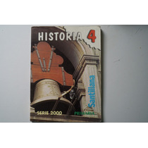 Libro Historia 4 Serie 2000 Primaria Santillana
