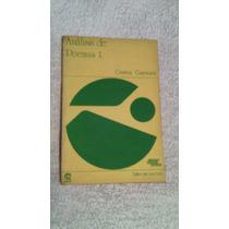 Libro Análisis De Poemas 1, Cristina Carmona.