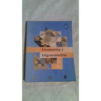 Libro Geometría Y Trigonometría, Sara Esther Guriérrez Carva