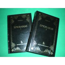 Libros Gredos Marcial Epigramas I Y Ii $849