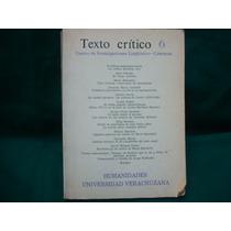 Texto Crítico. Universidad Veracruzana, Vol. Iii
