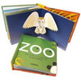 Zoo De David Pelham Libro Pop Up 16 Págs 15x16cm Ed Combel