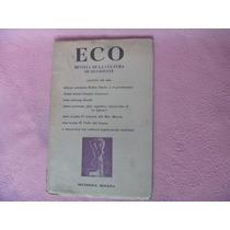 Eco. Revista De La Cultura De Occidente, Bogotá, 1967.