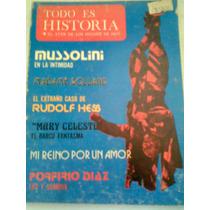 Mussolini Revista Todo Es Historia Antigua Vv4