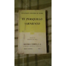Libro El Periquillo Sarniento, J. J. F.