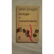 Libro Biología Y Conocimiento, Jean Piaget.