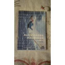 Libro Actividades Acuáticas, Marybeth Pappas Gaines.