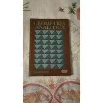 Libro Geometría Analítica, Gordon Fuller.