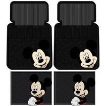 4 Piezas Mickey Mouse Cara Tapetes Set