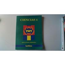 Libro Ciencias 4 Primaria Santillana